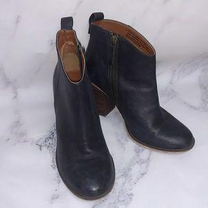 BP. Black Ankle Boots 7 1/2 M